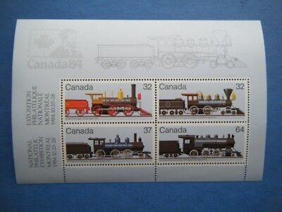 Canada#1039a MNH SS 'Locomotives' Lot#UU21