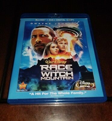 Race to Witch Mountain Blu Ray/DVD Mint **Inv01672**