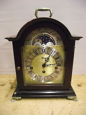 Franz Hermle Clock With Moonphase And Westminster Chimes - Mantel Clock