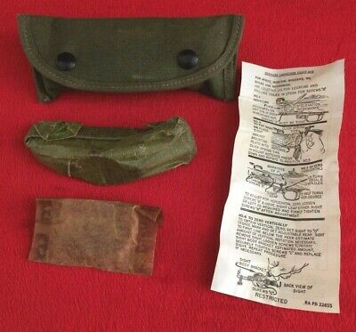 WW2 US Army USMC WEB Gear Rifle Grenade Sight Complete Assembly, NOS