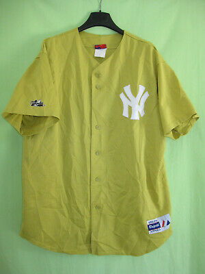 Maillot baseball New York Athletic majestic vintage Made in USA Jersey - XL