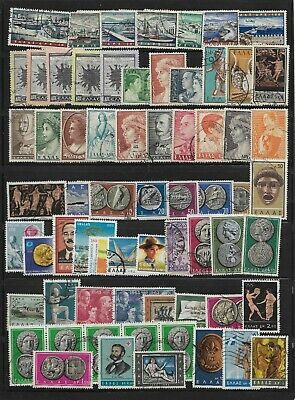 GREECE, Used Mix. 60+ Stamps.