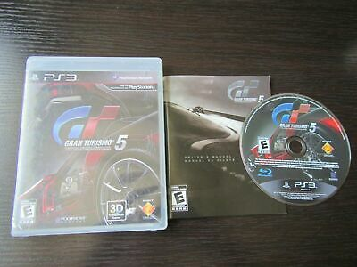 Gran Turismo 5 PS3 GT5 videogame Perfect Disc Fast Shipping Worldwide!!!