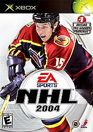 NHL 2004 Xbox PERFECT DISC VERY FAST SHIPPING WORLDWIDE!!!