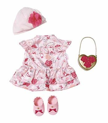Baby Annabell Deluxe Flower Dress Outfit Boxed Set For Dolls Zapf Creation