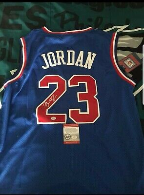 Michael Jordan Signed All Star Jersey With Coa