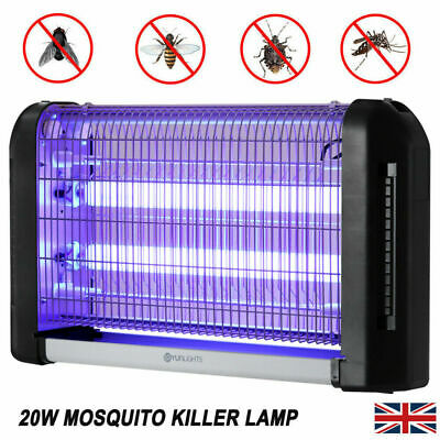 YUNLIGHTS 20W Electric UV Fly Mosquito Killer Lamp Insect Trap Catch Bug Zapper