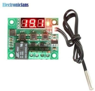 W1209 Digital LED DC 12V Heat Cool Temp Thermostat Temperature Control Switch Mo