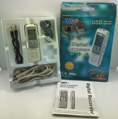 JNC Digital Voice Recorder WORKING ORDER