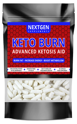 KETO BURN Fat Burners Ketosis Aid FAST WEIGHT LOSS Pills Capsules Diet Slimming