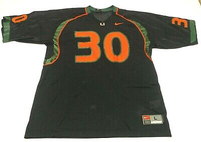 best service 35b43 97a7c ADIDAS PREMIER NCAA Jersey University of Miami Hurricanes #1 ...