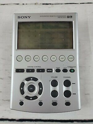 Sony RM-AV3100 Integrated Remote Commander Control Unit Free US Ship