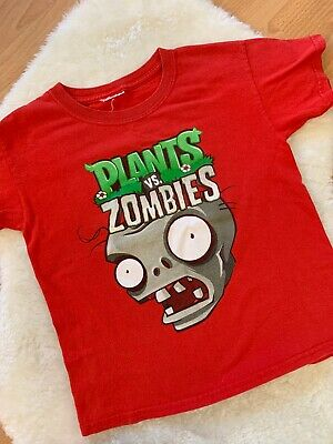 Plants vs. Zombies Boys Red T-Shirt Approx Size: 3T/4T