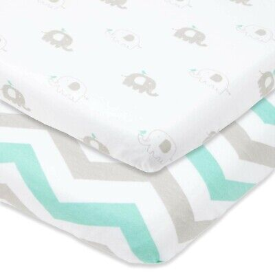 Baby Bedding Fitted Moses Bassinet Cotton Sheets 70 x 40cm Imperfects