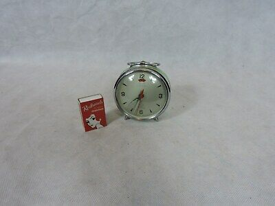 Vintage Alarm Clock Five Rams Lime Green So Cool
