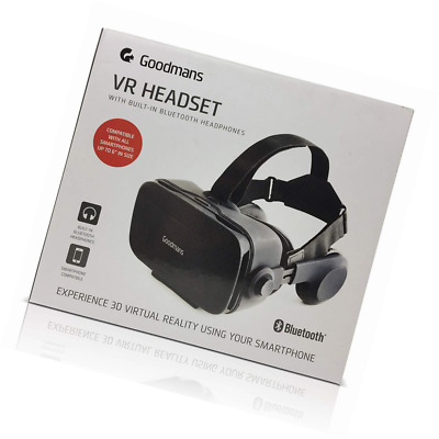 GOODMANS VR HEADSET with built in