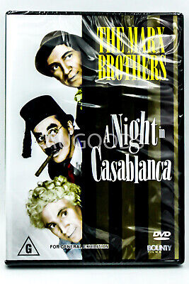 The Marx Brothers - A Night in Alabama -Comedy Region All DVD NEW