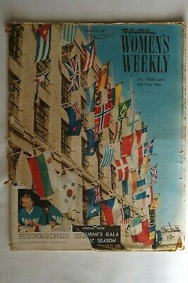 Olympic Games Collectable 1956 Melbourne Vintage Olympic Edition Women's Weekly