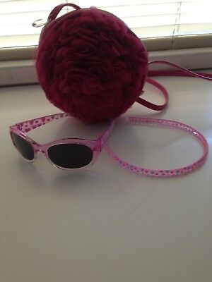 Euc Girls Gorgoeous Cross Body Bag Bonus Sunglasses And Head Band