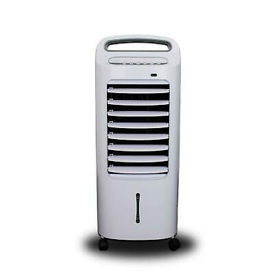 Slimline Mobile Portable Evaporative Air Cooler Built In Air Purifier Humidifier
