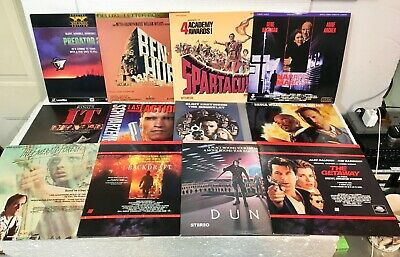 Vintage Laserdisc Movie Titles-Lot Of 43 Great Classic Titles-Great Condition!!