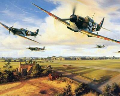 THEIR FINEST HOUR (MkI Spitfires) - Van-Go Paint-By-Number Kit