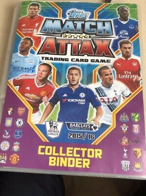 Topps Match Attax Binder Collection Season 2015/16 - Not Complete (360 of 464)