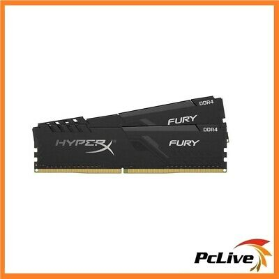 Kingston HyperX Fury 16GB DDR4 2400Mhz Memory 2x8GB RAM Gaming Desktop PC4 19200