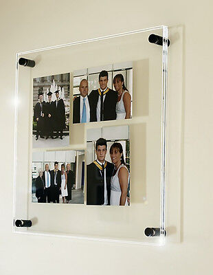 """Photo picture wall multi 4x 5 x 7"""" /7 x 5"""" frame all colours Cheshire acrylic"""
