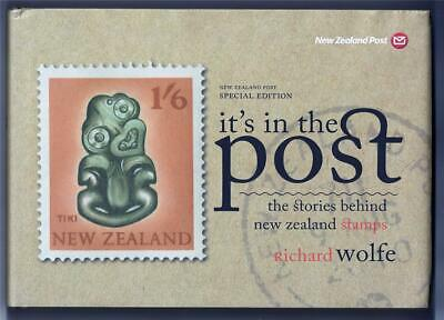 New Zealand Post Special Edition Book 'it's in the post' by Richard Wolfe