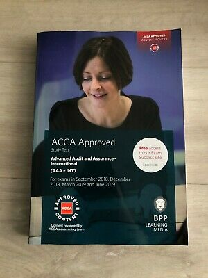 ACCA APPROVED STUDY text P7 (AAA -INT) for exam march 19,june 19