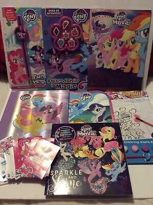 Lot 4 Vintage My Little Pony Books Coloring Book New