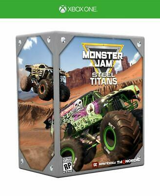 Monster Jam Steel Titans Collectors Edition XBOX One Microsoft XB1 Truck Game