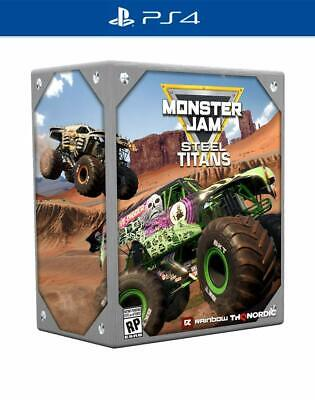 Monster Jam Steel Titans Collectors Edition Sony PS4 Playstation 4 Truck Game