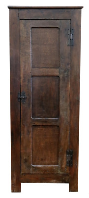 Antique 17th century STYLE Oak vestments Housekeepers cupboard