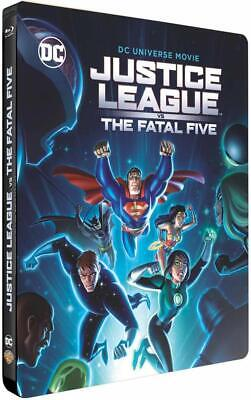 Justice League The Fatal Five Steelbook Dc Comics  Blu Ray Neuf Sous Cellophane
