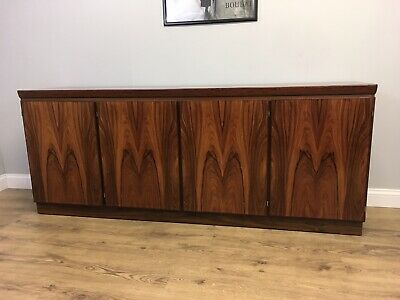 Vintage Mid Century 1960s Danish Rosewood Sideboard , Skovby Delivery Available