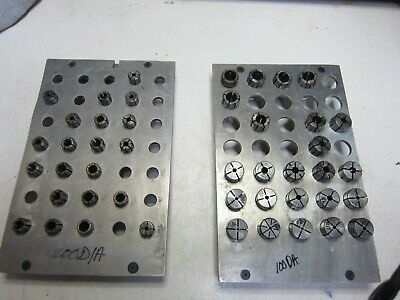 Collet Racks for DA100 and DA200 Collets with 45 Collets