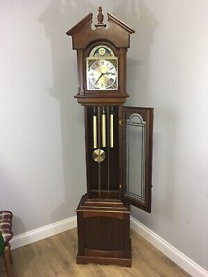 Beautiful grandfather clock Made In Western Germany ,Delivery Available.
