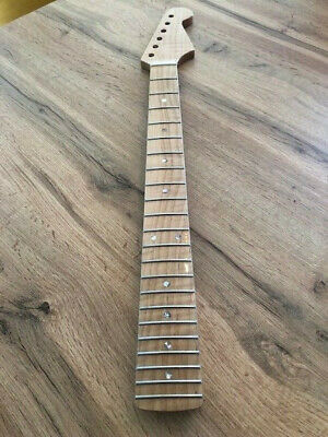 Stratocaster Hals / Neck maple, AA-flamed , medium roasted