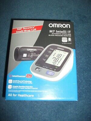 Omron M7 Intelli IT 360 Degree Acc Connected Upper Arm Blood Pressure Monitor
