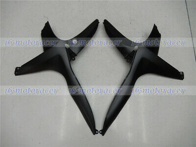 Right+Left Side Mid Cowl Fairing Fit for 2011-2018 GSXR 600 750 K11 Black New #5