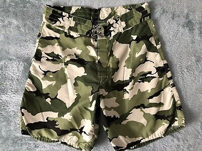 6ca41a2eb7 BIRDIE BIRDWELL BEACH Britches Camo Board Shorts Mens 36 USA Trunks ...
