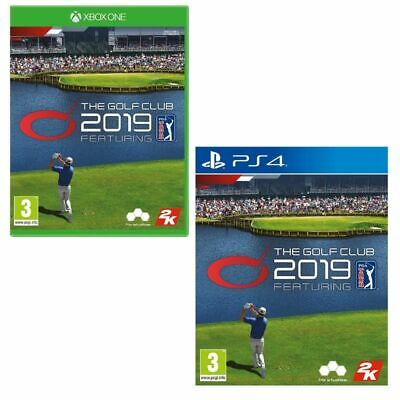The Golf Club Xbox One PS4 Sony Playstation 4 PGA Tour Game New Sealed 2019 UK