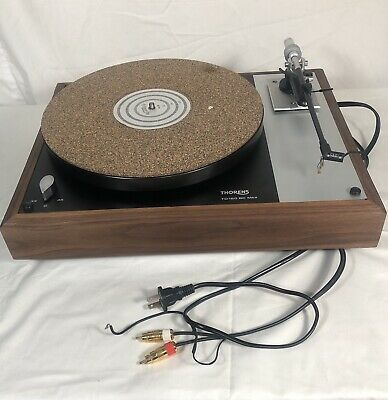 THORENS TD-160 TURNTABLE/RECORD Player with original box