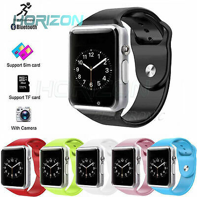 A1 intelligent Watch Bluetooth Waterproof GSM SIM Phone Cam For Android Samsung