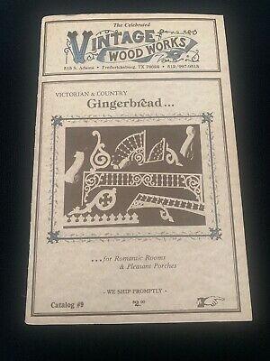 Vintage Wood Works Victorian & Country Gingerbread 1987 Catalog