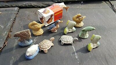 Job Lot Wade Whimsies X 10 - Ducks/Fish/Turtles