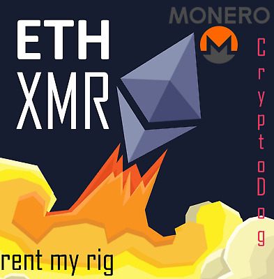 Mining Vertrag ★ Minning Contract ★ 175 Hours : +180MH/s ETH ★ +5200h/s XMR