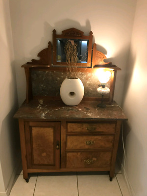 Antique wash stand or sidebboard